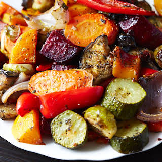 Scrumptious Roasted Vegetables.