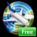 Airline Flight Status Track & Airport FlightBoard icon