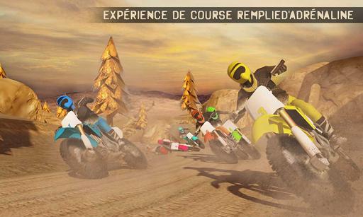 🏁 Trial Xtreme Salet Vélo Course Jeux: Fou Course  captures d'écran 2