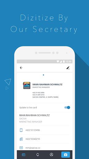 玩免費商業APP|下載Saciva - Bizcard Secretary app不用錢|硬是要APP