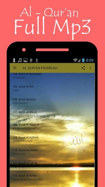 Al Quran Fadhilah Latin Dan Artinya Android Aplikasi
