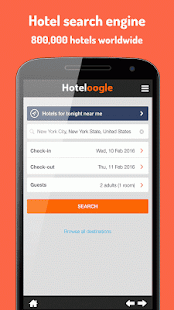 Hoteloogle- screenshot thumbnail
