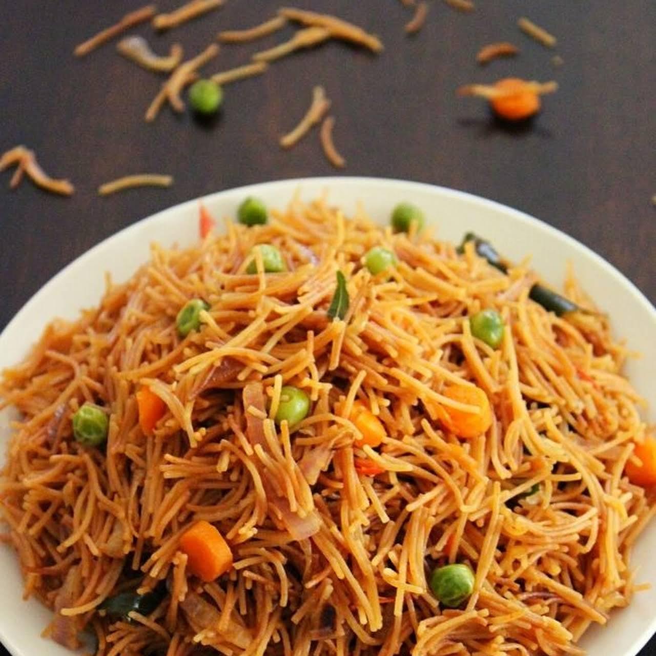 Semiya Upma Recipe, Vermicelli Upma