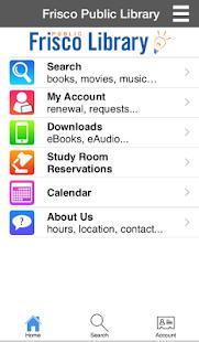 Frisco Public Library- screenshot thumbnail