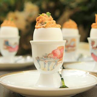 Provencal Deviled Eggs
