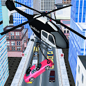 Police Helicopter: Cop Car Lifter icon