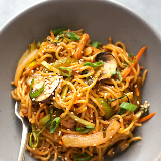 Vegetable Yakisoba Noodles Recipes
