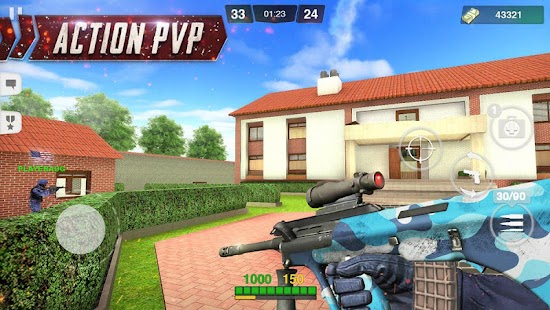 ApkMod1.Com Special Ops FPS PvP War Online gun shooting games + (Mod Money) for Android Action Game