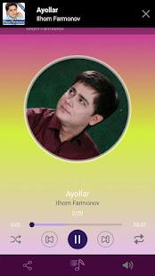 Ilhom Farmonov qo'shiqlari for PC-Windows 7,8,10 and Mac apk screenshot 3