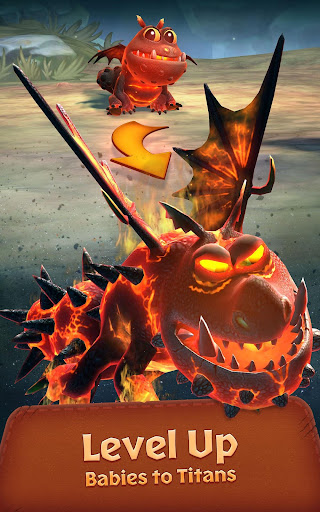 Screenshot for Dragons: Titan Uprising in United States Play Store