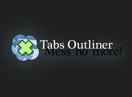 Tabs Outliner