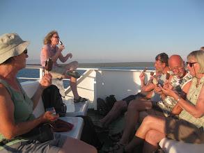 Photo: Op de car ferry terug naar Zadar