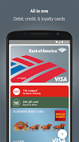 Screenshot of Android Pay