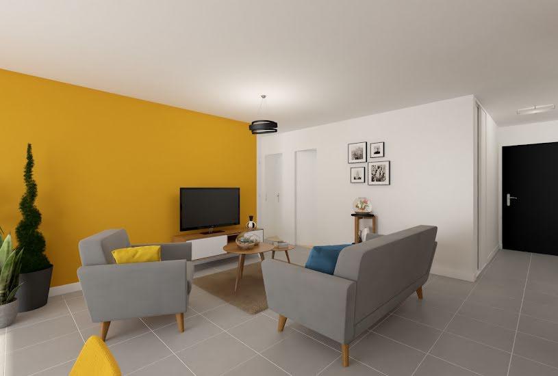 Vente Terrain + Maison - Terrain : 445m² - Maison : 106m² à Nozay (44170)