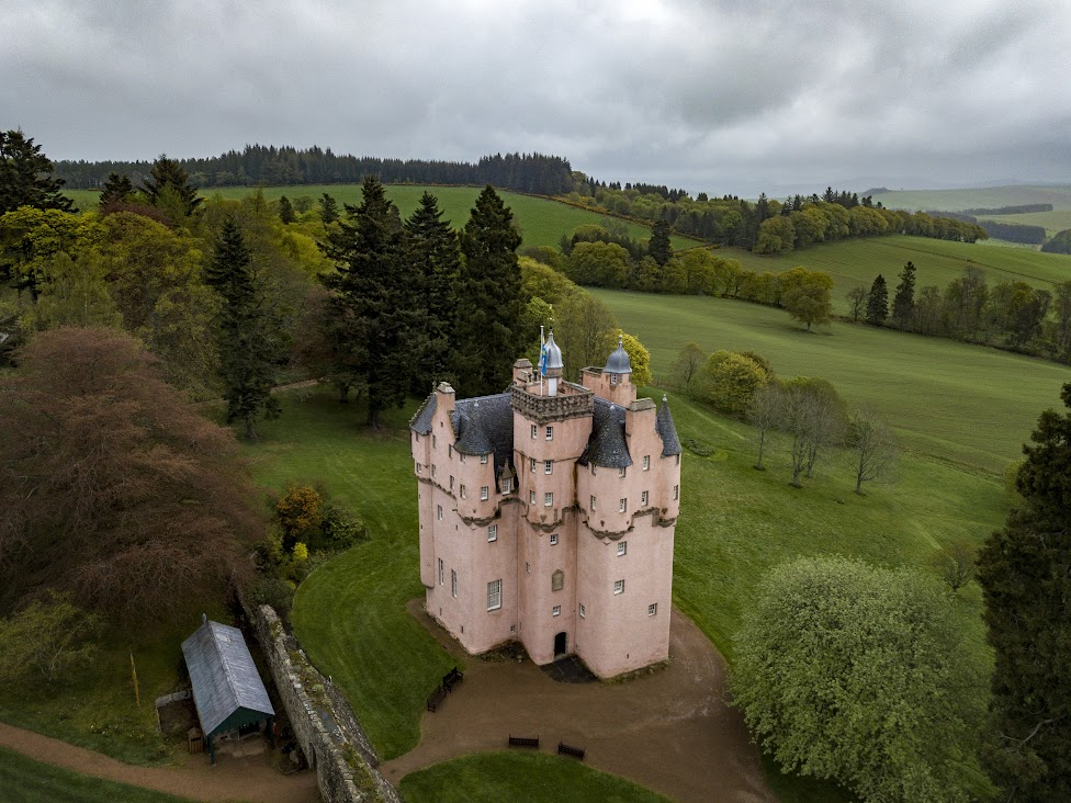 Craigievar Castle, Szkocja