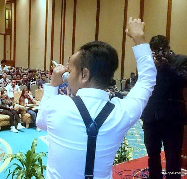 गायक विनोद खम्वुले मलेसियामा सांगीतिक भूकम्प चलाए