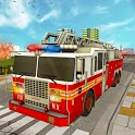 American Firefighter Games :Fire Truck Rescue Game icon