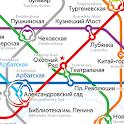 Moscow Metro Map icon