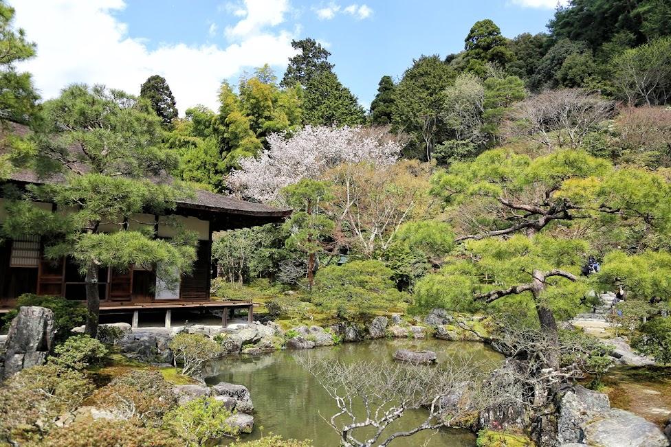 Kioto, świątynia Ginkaku-ji, Srebrny Pawilon