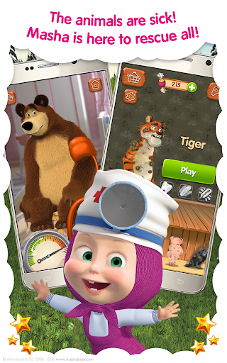 Masha and the Bear: Free Animal Games for Kids  screenshots 8