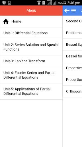 Maths in Engineering