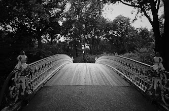 """Photo: """"And I find it kind of funny, I find it kind of sad...""""  Pine Bank Bridge. Central Park, New York City   View the writing that accompanies this post here at this link on Google Plus:  https://plus.google.com/108527329601014444443/posts/NSUTZCWgATx  View more New York City photography by Vivienne Gucwa here:  http://nythroughthelens.com/"""