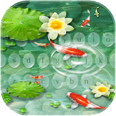 Koi fish Keyboard Theme