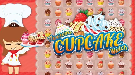 素晴らしいカップケーキマッチ - Match3