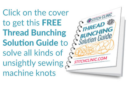 Send me the FREE Thread Bunching Solution Guide