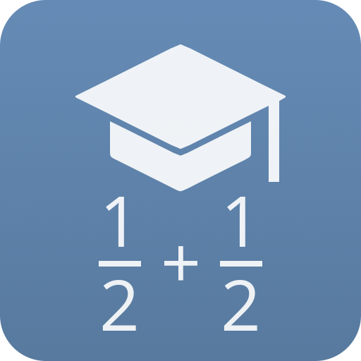 Fraction calculator and Trainings Icon