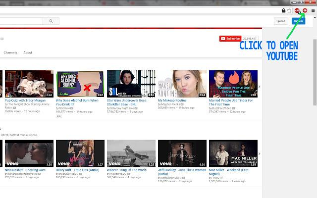 Youtube Button