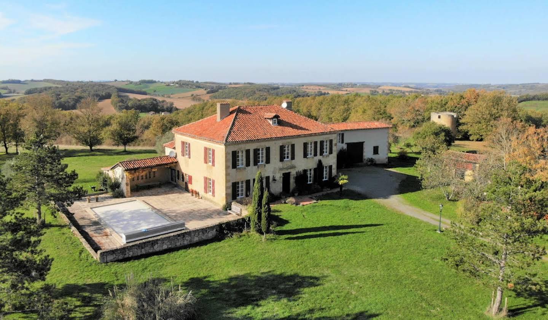Property with pool Marciac
