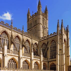 Bath Abbey by Elfie Back - Buildings & Architecture Places of Worship (  )
