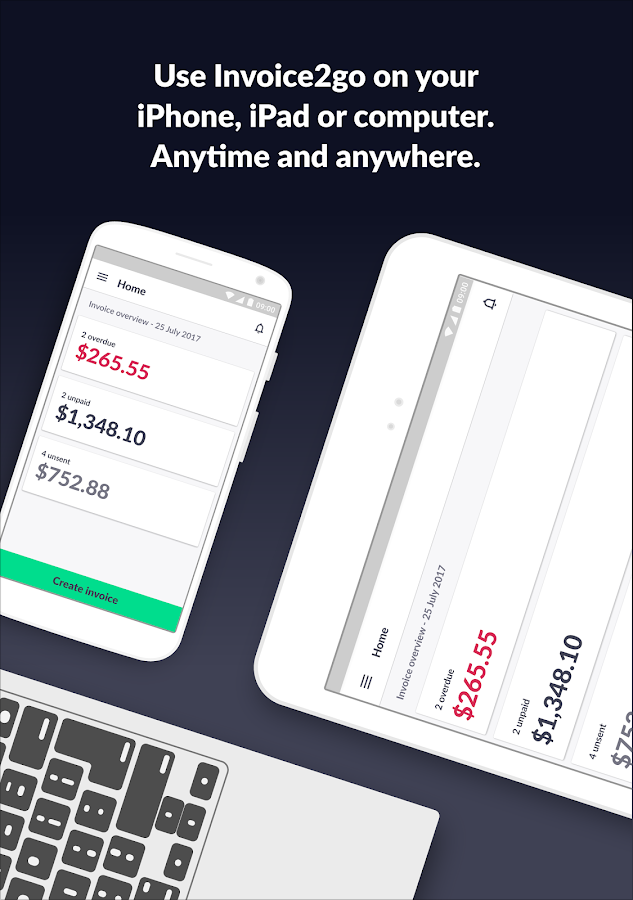 Invoice 2go — Professional Invoices and Estimates- screenshot