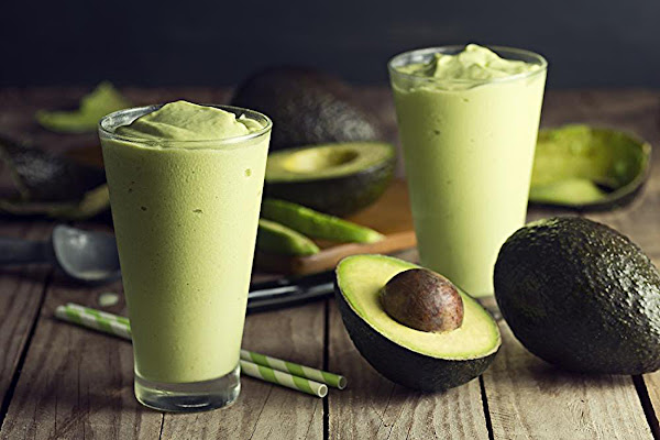 Avocado Ice Cream Smoothie Recipe