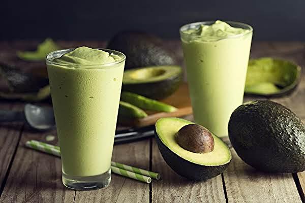 Avocado Ice Cream Smoothie