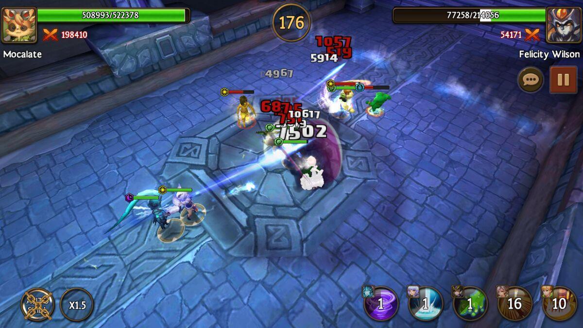 Battle of Heroes- screenshot