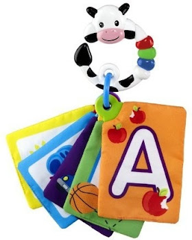Baby Einstein Animal Discovery Traditional Flashcards - Cow