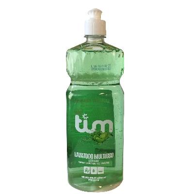 detergente liquido tim lavatodo multiuso citrico 850ml
