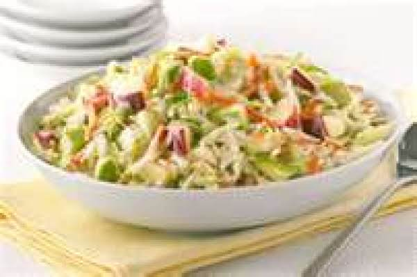 An Apple A Day Coleslaw With Dressing