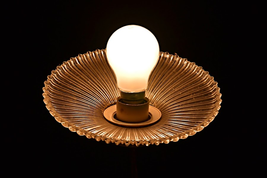 And There Was Light by Marcel Cintalan - Artistic Objects Still Life ( home, bulb, electricity, light, room,  )