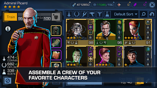 Star Trek Timelines - Strategy RPG & Space Battles  άμαξα προς μίσθωση screenshots 2