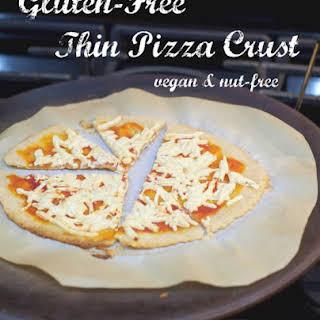 Gluten-Free Thin Pizza Crust (Vegan & Nut-Free).