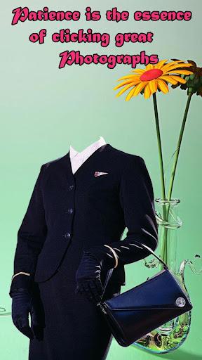 Air Hostess Photo Suit