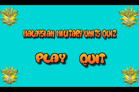 Malaysian Military Army Units Quiz - náhled