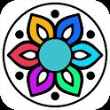 Mandala Colouring Book - Mandala Coloring Pages icon