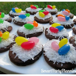 Bird's Nest Cookies Are Cute Easter Desserts.