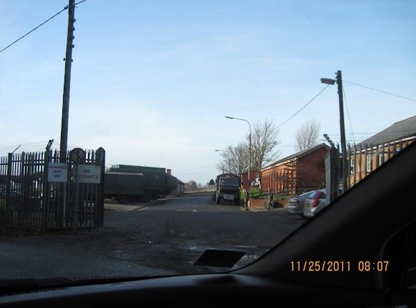 The Curragh Military Base.