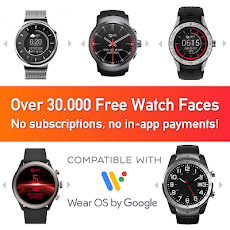Watch Face - Minimal & Elegant for Android Wear OSのおすすめ画像1