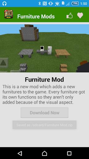 無料娱乐AppのMCPE家具モッズ! 記事Game